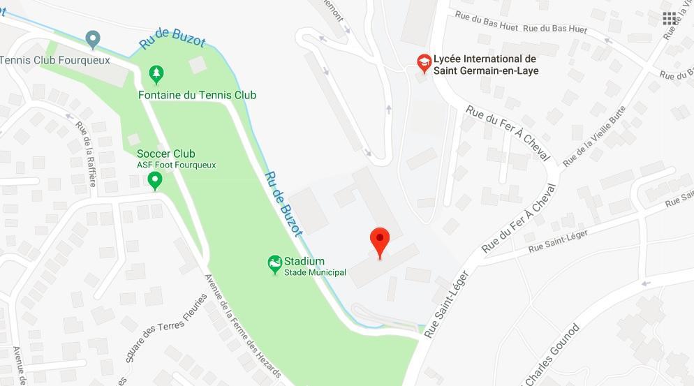 Google map - Ecole Internationale